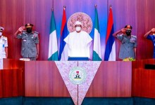 Photo of Buhari decorates new service chiefs, demands quick action on insecurity