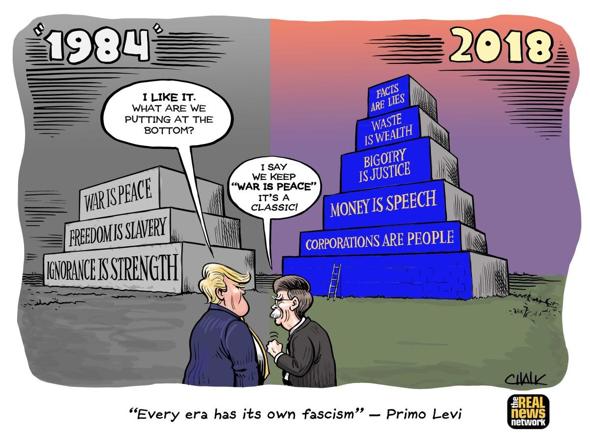 1984-2018 Cartoon