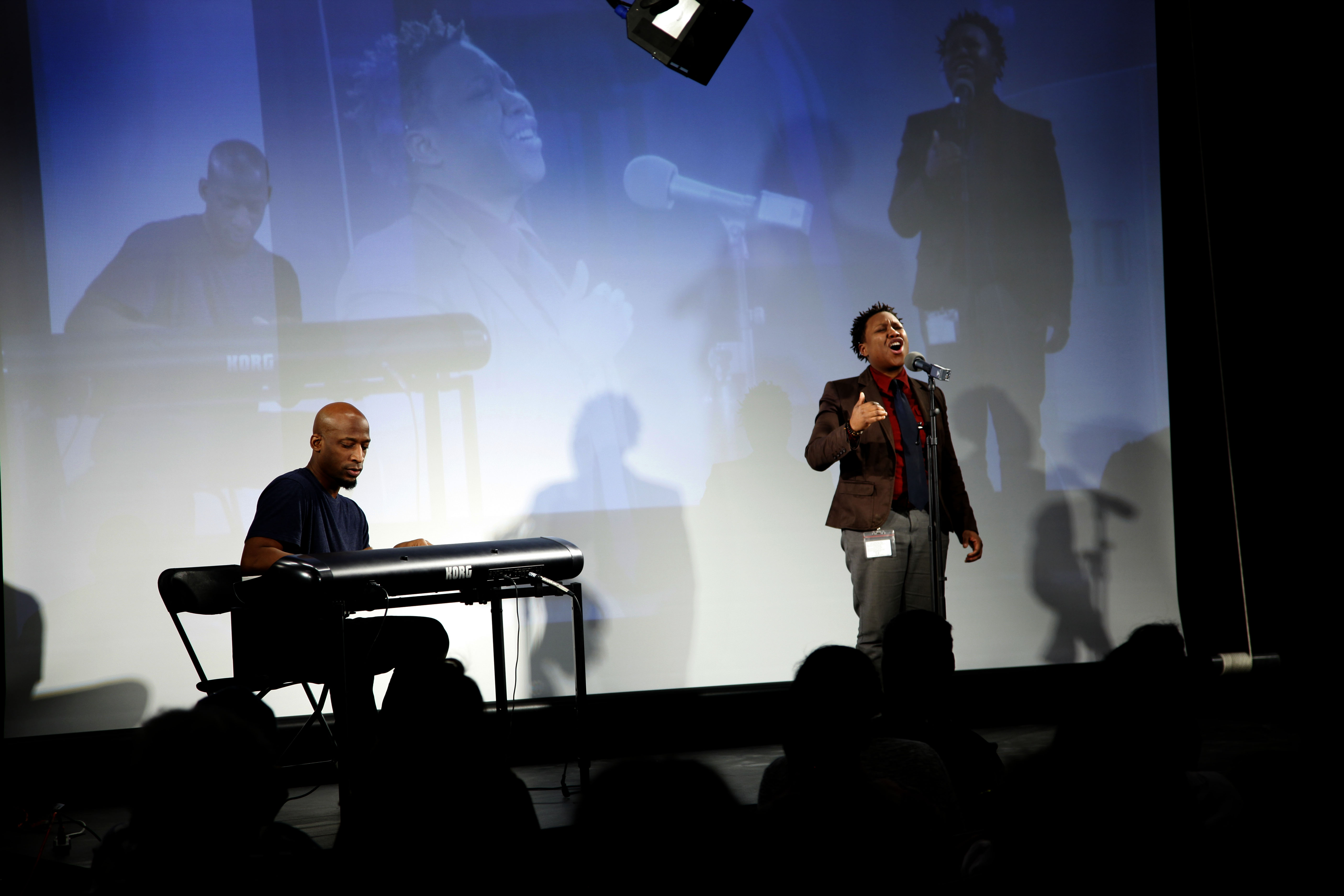 jPope and Wendel Patrick Performance
