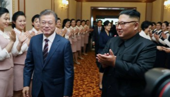 As Koreas Make Peace, Will Trump End the War?