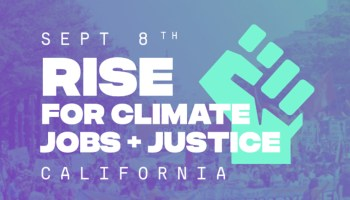 International Day of Action on Climate: September 8