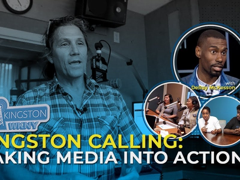 Laura Flanders Show: Kingston Calling - Making Media Into Action