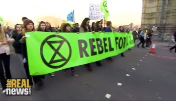Thousand Shutdown London to Demand Urgent Action on Climate Change
