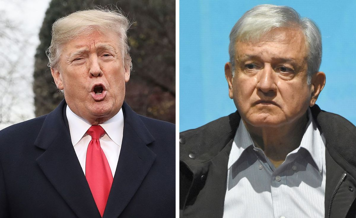 Donald Trump; Andres Manuel Lopez Obrador. (Win McNamee/Getty Images / Carlos Tischler/Getty Images)