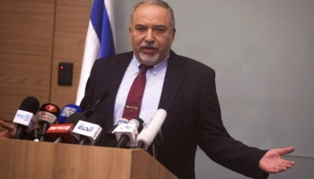 Lieberman Quits Netanyahu For Not Being Violent Enough to Gaza