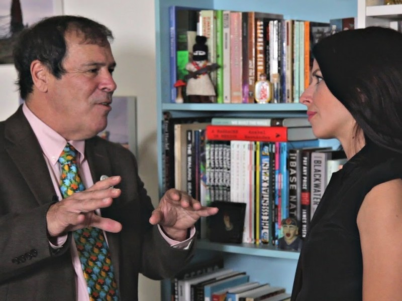 Randy Credico Exclusive Tell-All Interview with Abby Martin on Wikileaks & Roger Stone