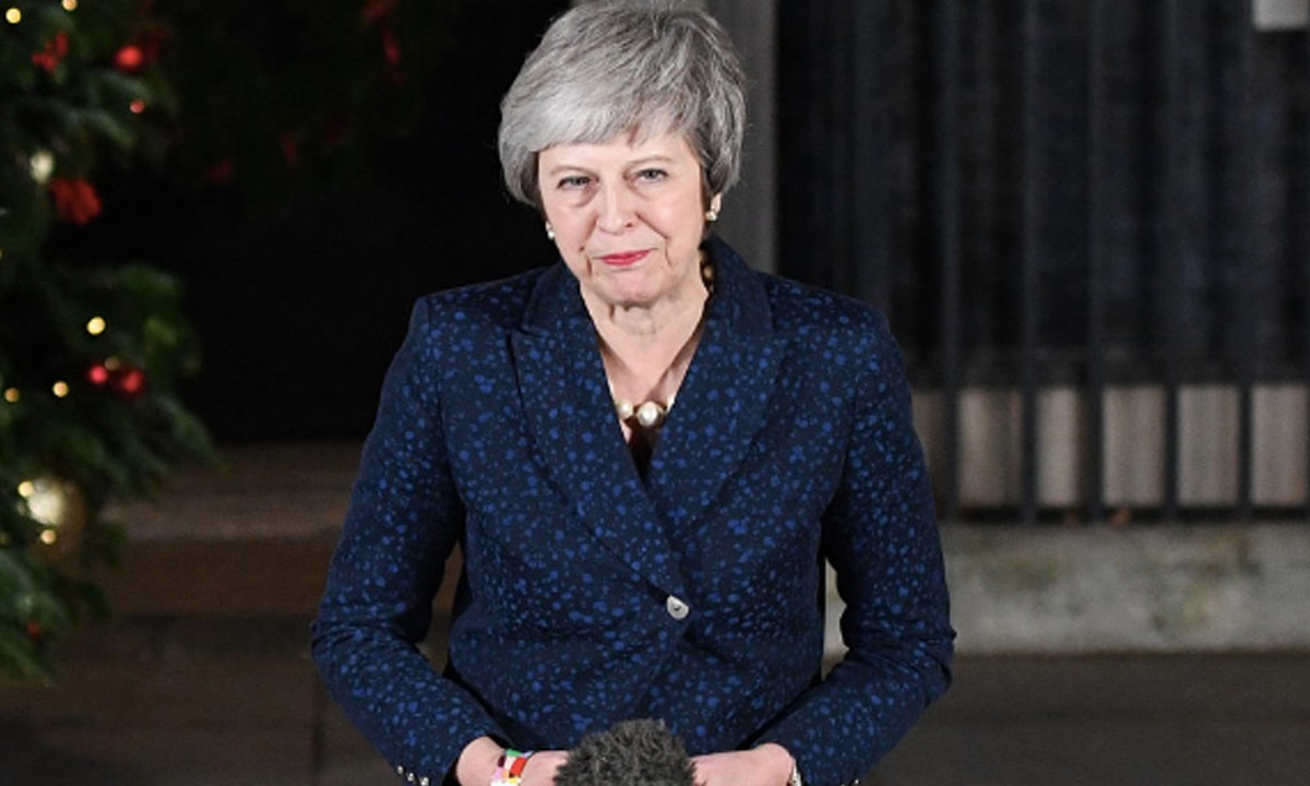 Theresa May's Brexit Blood in Water as UK Tories Circle