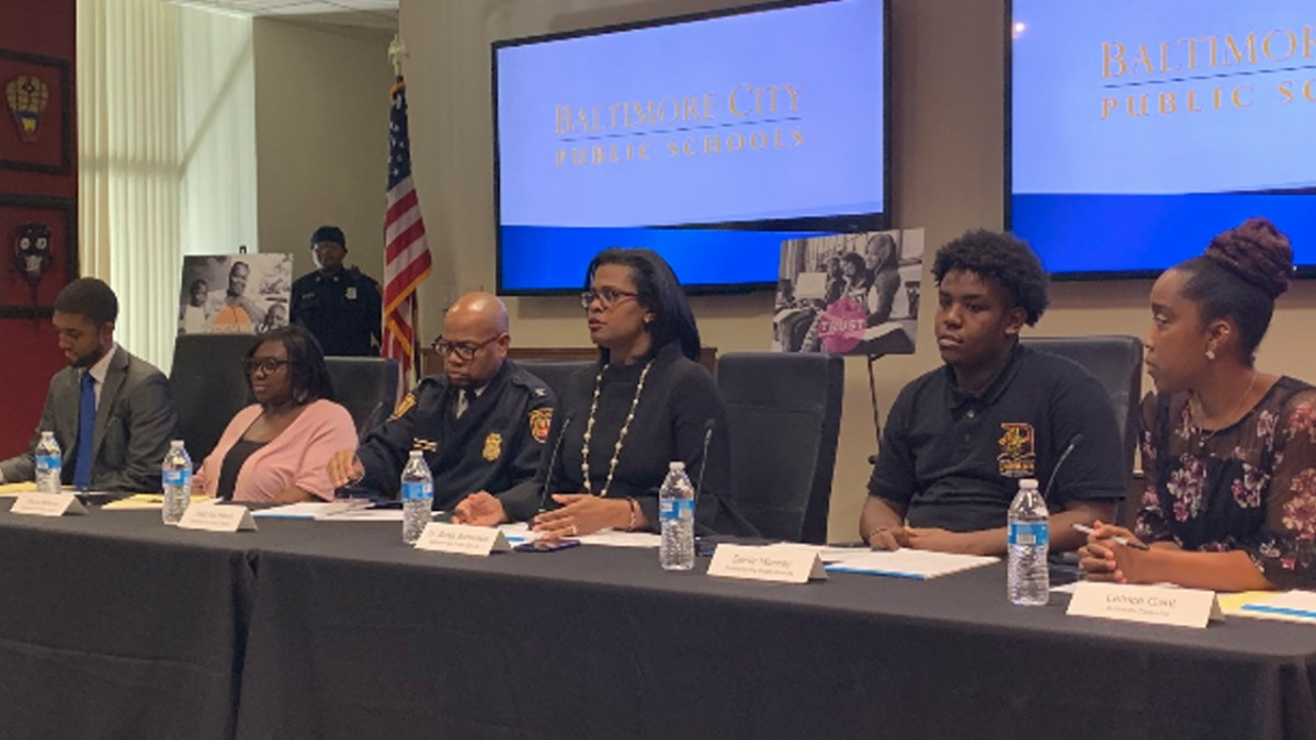 Baltimore City School System Hosts Community Town Hall Amid Viral Images of Student Assaults Against Staff