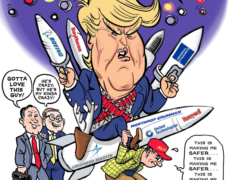Trump goes nuclear