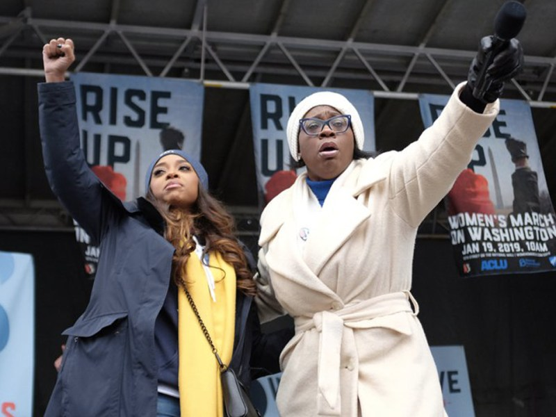 Nina Turner Speaks at the Women's March