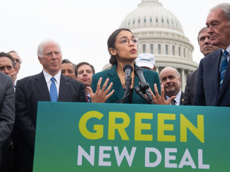 The Green New Deal Must Take on the Fossil Fuel Industry