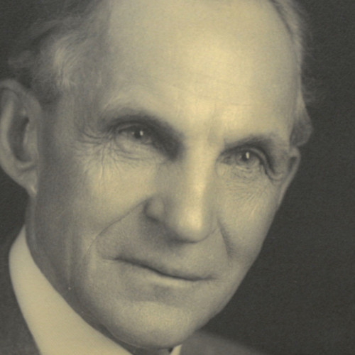 An image of Henry Ford from the Autumn 2018 issue of The Dearborn Historian.