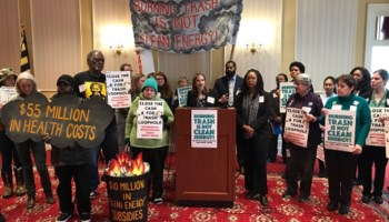 Baltimore Incinerator Could Lose Green Subsidies