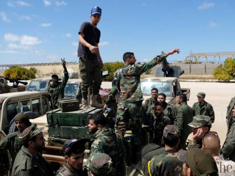 External Powers Fuel Bloodshed in Libya