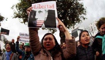 Ecuadorian President's Motives for Surrendering Assange: Vengeance & IMF Loan?
