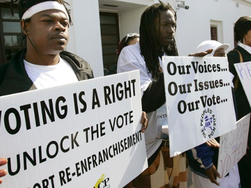 Bernie Sanders Supports Voting Rights for the Imprisoned