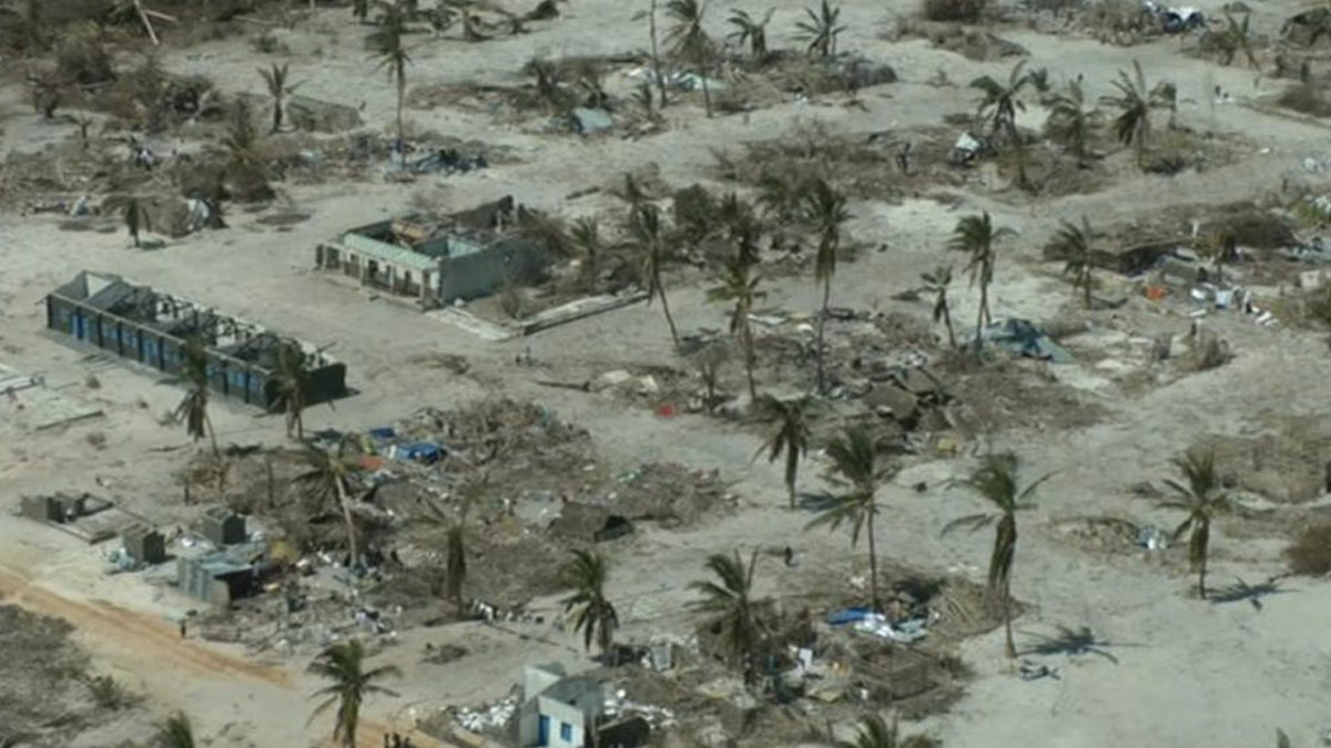 Mozambique Cyclone Kenneth Leaves Devastation in its Wake