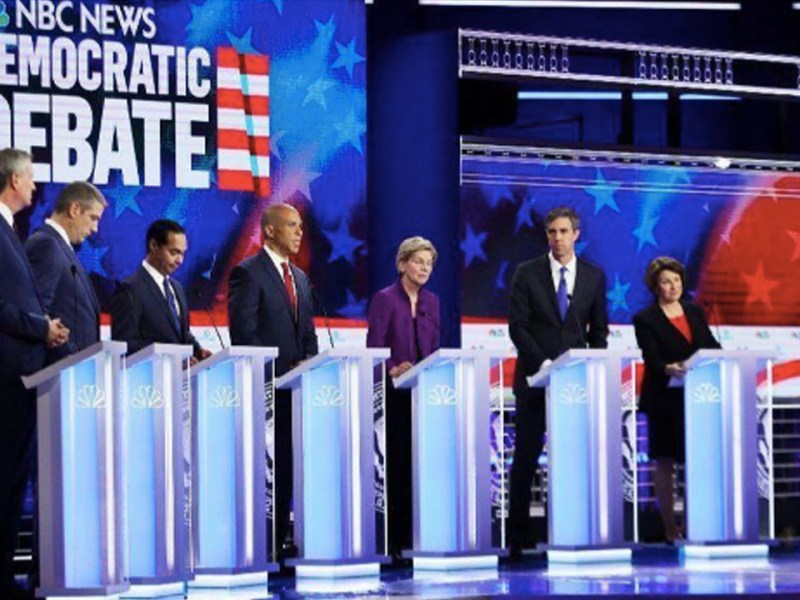 First Democratic Debate: A Shift to the Left, Some Shifted More Than Others (1/2)