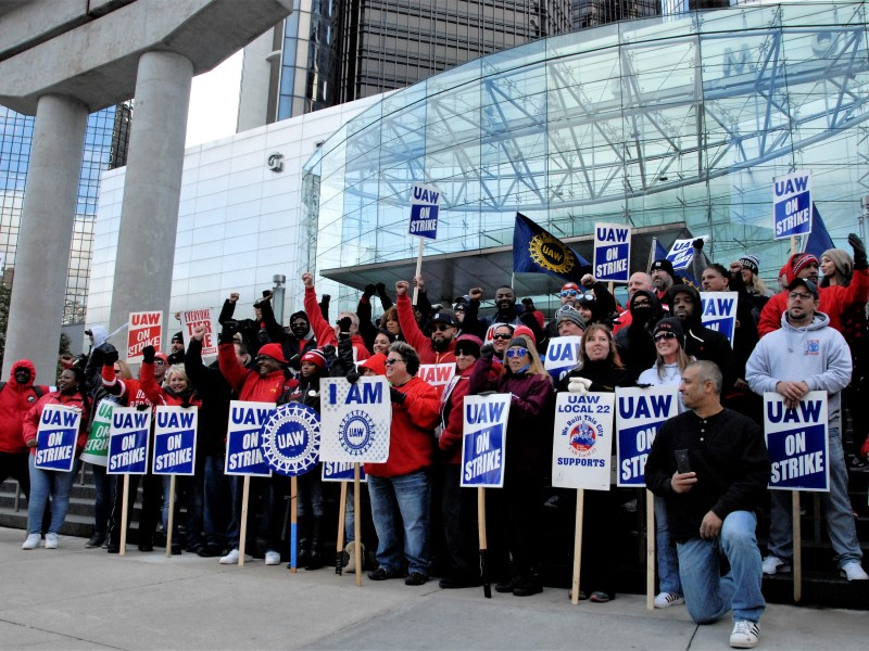 If UAW members ratify the contract, what does GM get?
