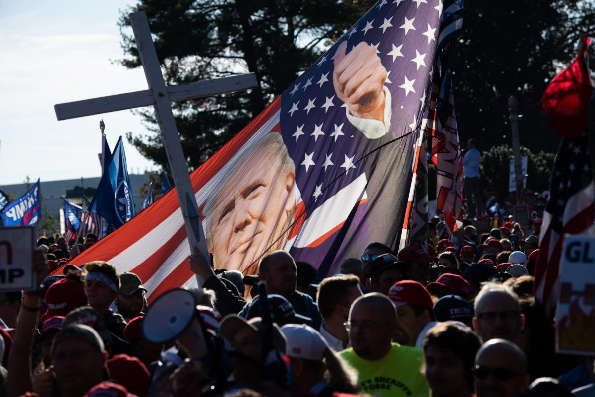 Thousands of supporters of President Donald Trump march to the Supreme Court claiming Trump was the true winner of the 2020 presidential election