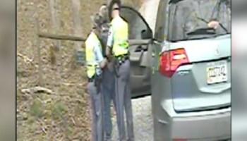 Dashcam of TFC Jonathan Salcedo showing Charles Spradling's arrest
