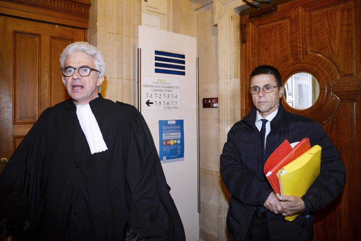 Hassan Diab and his lawyer William Bourdon