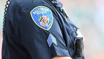 A Baltimore city policeman