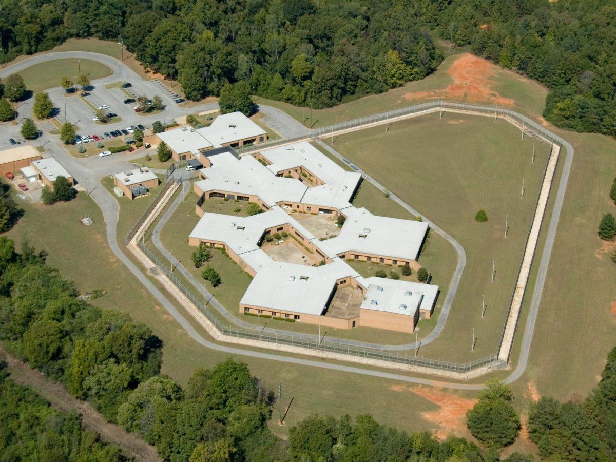 Tuscaloosa Prison Aerial View