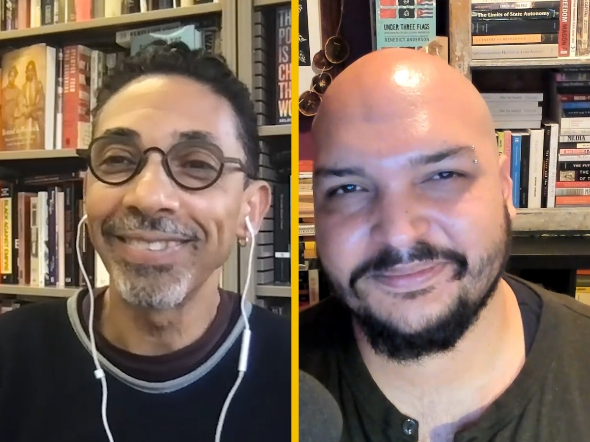 Professor Robin Kelley and TRNN Editor-in-Chief Maximillian Alvarez
