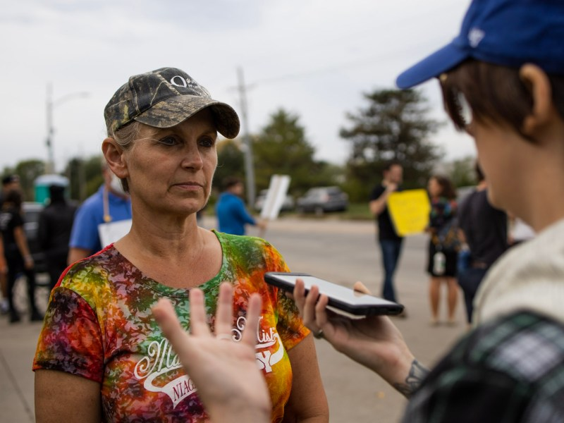 Omaha, Nebraska, Kellogg's plant worker Stephanie Sterling