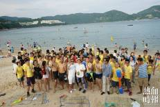 Cheng and Chung's campiang launch in Stanley Beach