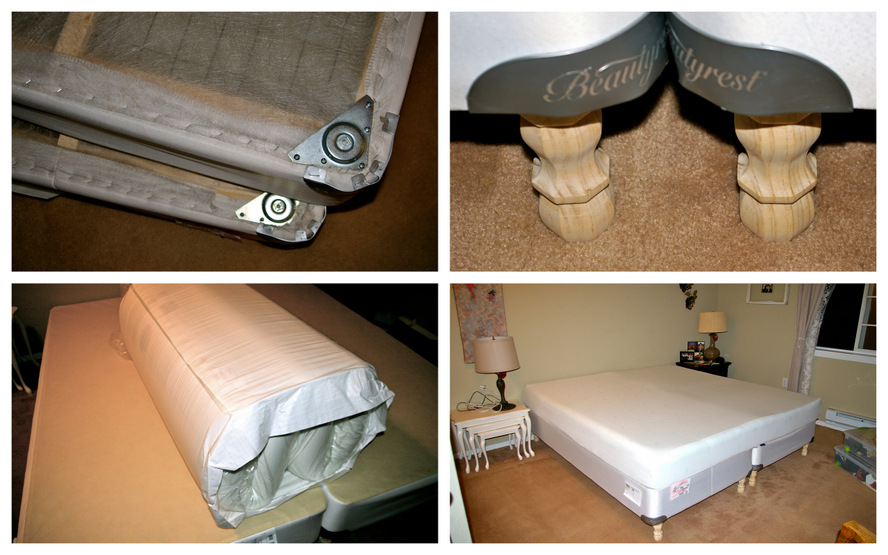 Pump Up Your Box Spring Just Add Legs To It