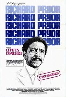 Richard Pryor Live in Concert original movie poster
