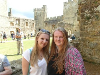 Bodiam Castle - Me and My Lovely Sister