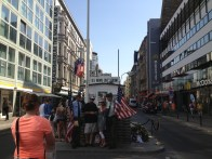 Berlin Germany Travel Pictures Photos Cool Historic Weekly Show Checkpoint Charlie Tourists