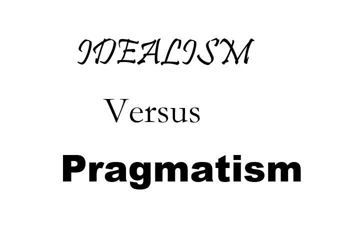 idealism vs pragmatism