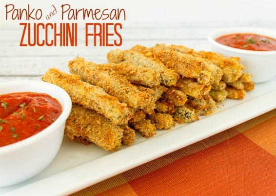 Baked Zucchini Fries | The Rebel Chick