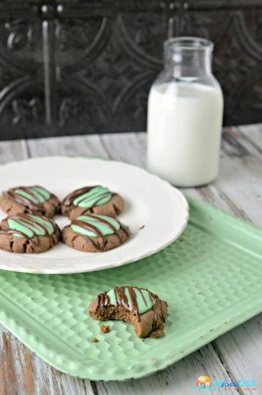 Mint Chocolate Cookies | The Rebel Chick