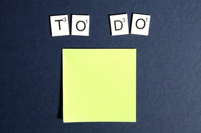 THE TO-DO LIST HABIT