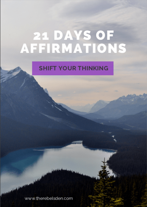 How Affirmations can help shift your thoughts