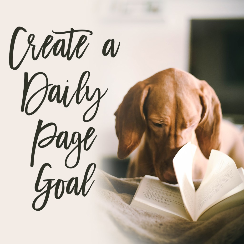 Create a Daily Page reading Goals