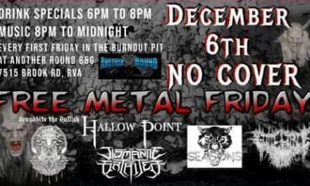 Free Metal Friday Another Round Bar + Grill