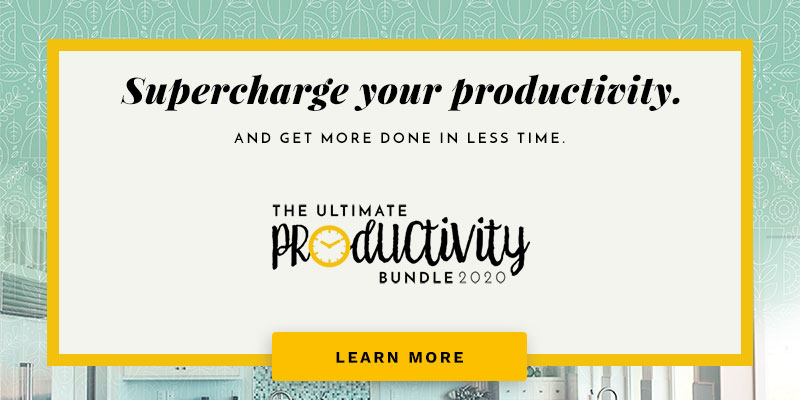 Proven strategies to get more done