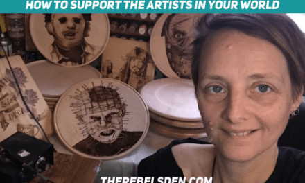 How to support the artists in your world