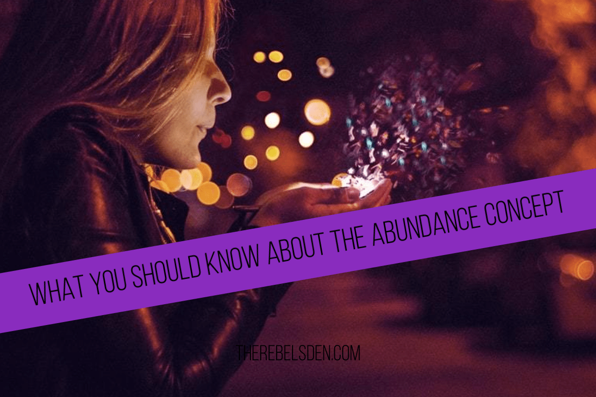 WHAT YOU SHOULD KNOW ABOUT THE ABUNDANCE CONCEPT