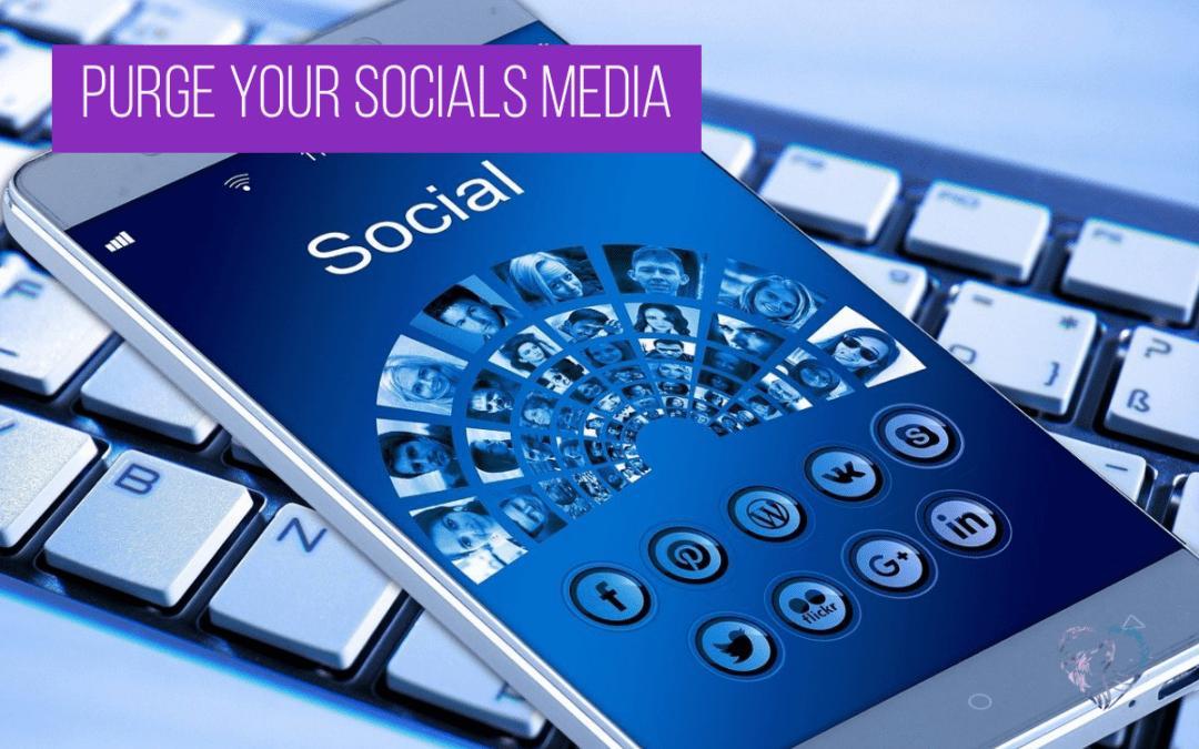 Purge Your Socials Media