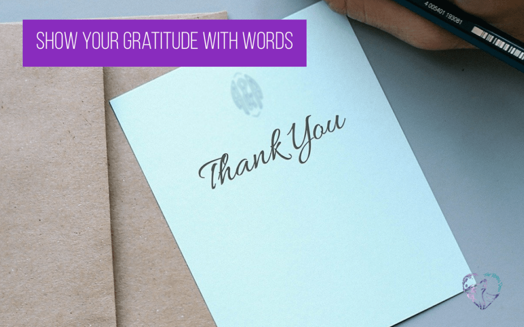 Show Your Gratitude With Words