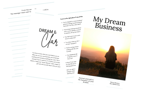 My Dream Business Journal