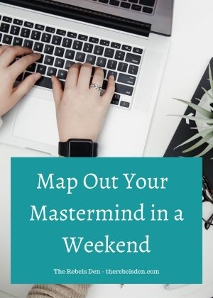 Map Out Your -5K Mastermind Program in a Weekend