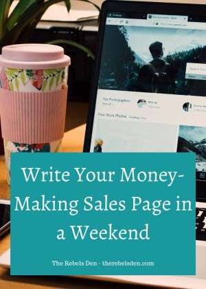 Write Your Sales Page in a Weekend